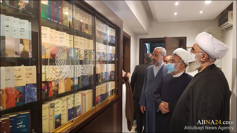 عکس خبری/ بازدید دبیرکل مجمع جهانی اهلبیت(ع) از مركز الحضارة لتنمية الفكر الإسلامي