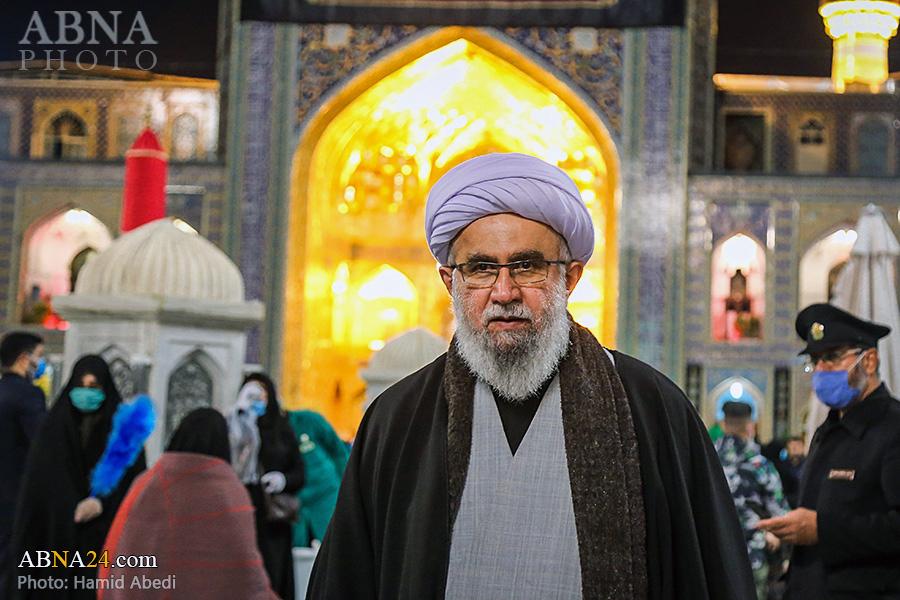عکس خبری/ حضور دبیرکل مجمع جهانی اهلبیت(ع) در حرم رضوی
