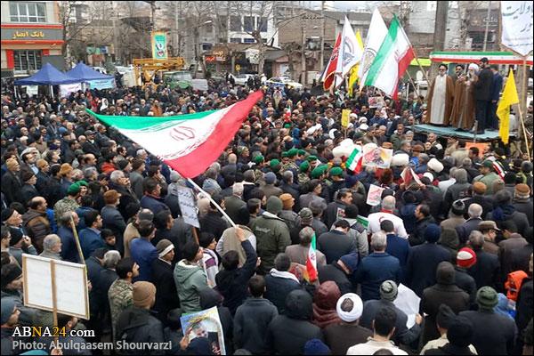 گزارش تصویری/ راهپیمایی یوم الله 22 بهمن در علی آباد کتول با سخنرانی رییس شورای عالی مجمع