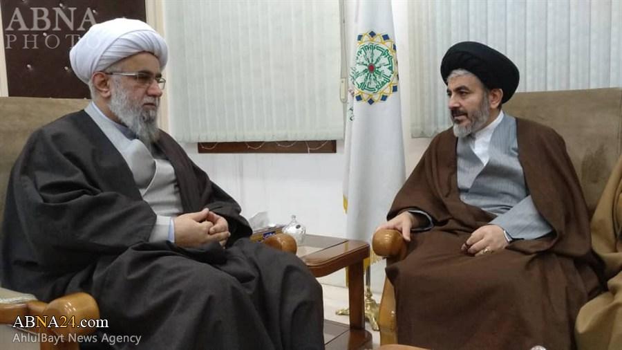 Photos: Representative of Supreme Leader in West Azerbaijan meets with Ayatollah Ramazani
