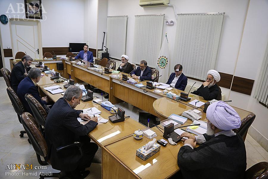 گزارش تصویری؛ جلسه شورای معاونان مجمع جهانی اهل بیت(ع) در قم