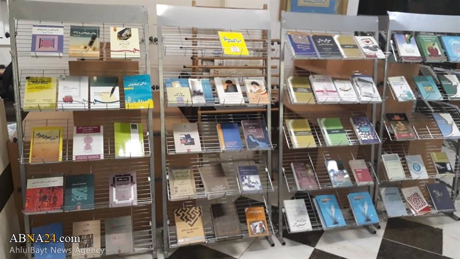 برگزاری نمایشگاه کتب اهدایی سازمان اسناد و کتابخانه ملی ایران به کتابخانه مجمع جهانی اهل بیت(ع) + تصاویر