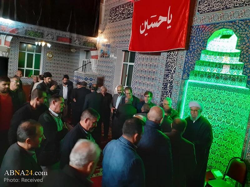 Photos: Ayatollah Ramazani attends Abu Talib (AS) mosque in Istanbul