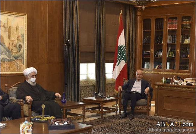 اہل بیت(ع) عالمی اسمبلی کے سیکرٹری جنرل کی لبنانی پارلیمنٹ کے اسپیکر سے ملاقات