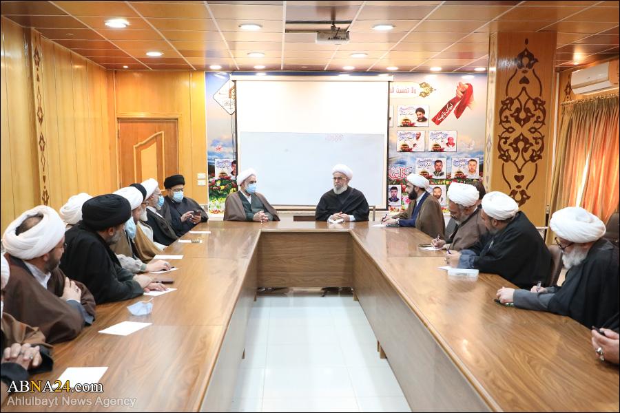 Photos: Ayatollah Ramazani met Prominent professors of Al-Mustafa International University in Syria