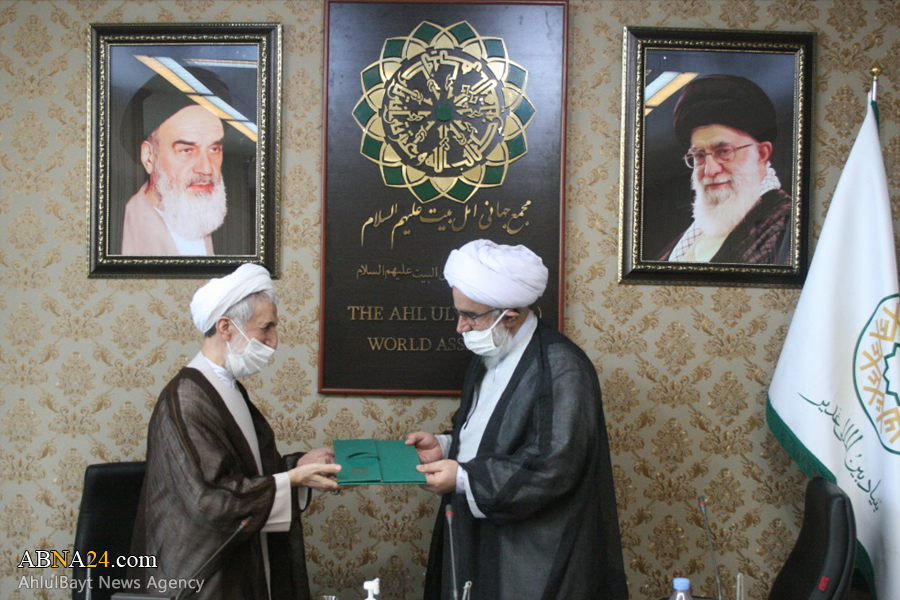 آیت الله رمضانی به عنوان ریاست نمایندگی بنیاد بین المللی غدیر در مجمع جهانی اهلبیت(ع) منصوب شد