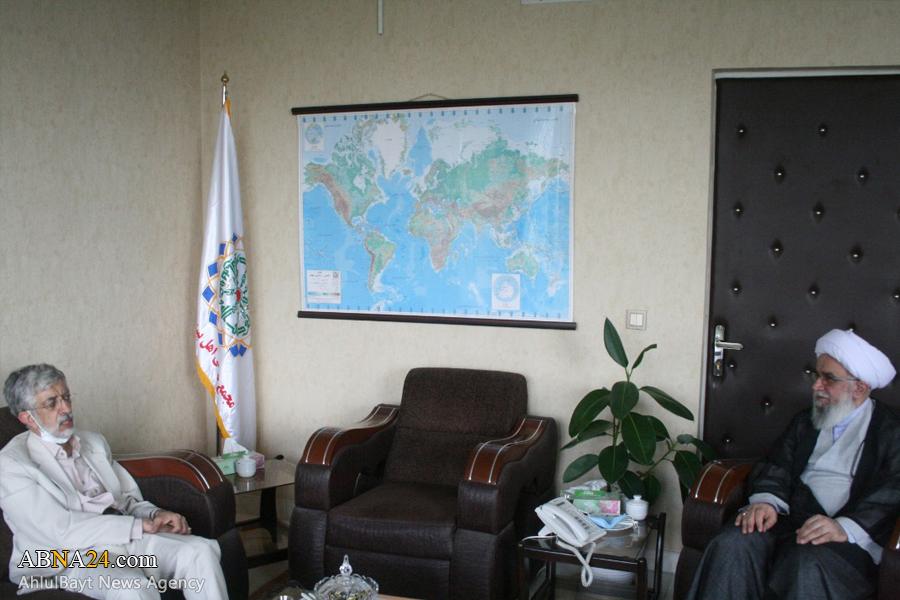 عکس خبری/ دیدار دکتر حداد عادل با دبیرکل مجمع جهانی اهلبیت(ع)