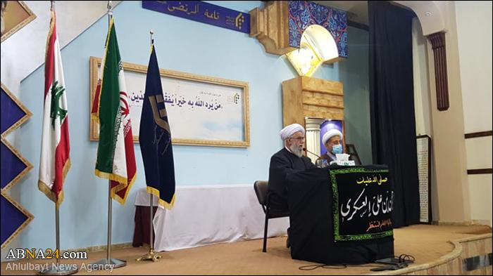 Photos: Ayatollah Ramazani visited office of Al-Mustafa (p.b.u.h) Intl. University in Lebanon