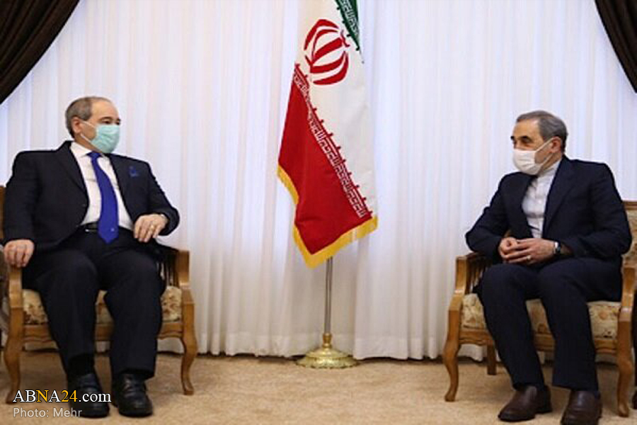Syria plays a very crucial, decisive role in resistance front: Iran's Velayati