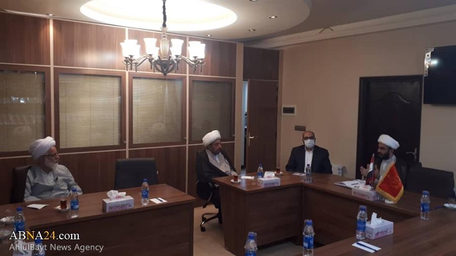دیدار مدیران فرهنگی مجمع جهانی اهل بیت(ع) با مسئولان