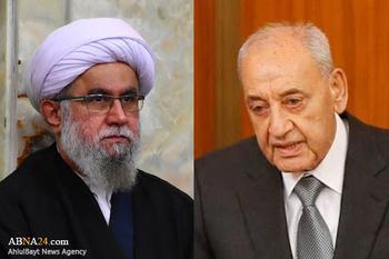 پیام تسلیت دبیرکل مجمع جهانی اهلبیت(ع) به نبیه بری/ لبنان عزیز را تنها نخواهیم گذاشت