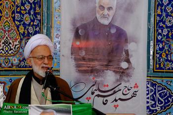سخنان عضو شورای عالی مجمع جهانی اهل بیت(ع) در آیین گرامیداشت شهید سردار سلیمانی
