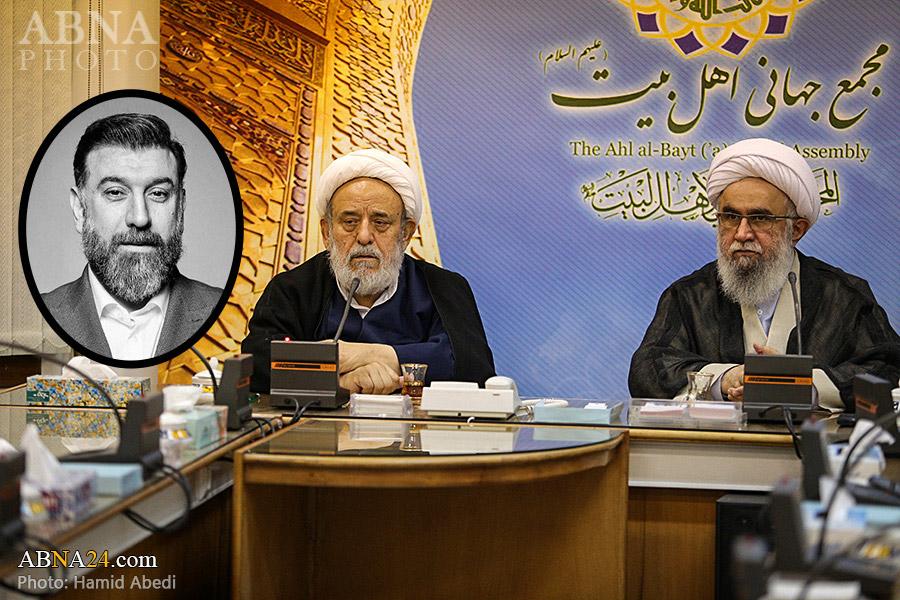 ABWA's Secretary General offered his condolences to Hojat al-Islam Hussein Ansarian