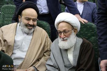 دیدار دو عضو شورای عالی مجمع جهانی اهلبیت(ع) در حاشیه مراسم بزرگداشت انقلاب مردم بحرین