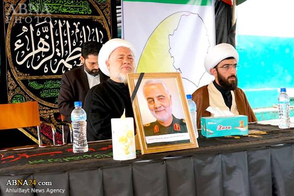 Photos: Mourning ceremony for martyrdom of Hazrat Fatima (SA), Gen. Soleimani in Sierra Leone