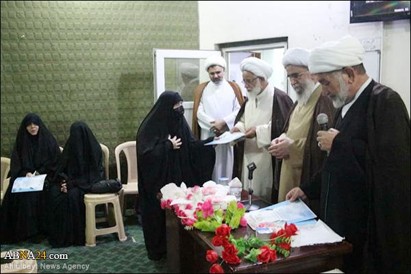 Foto Haber / Ayetullah Ramazani'nin Katılımıyla Iraklı Bayan Tebliğciler Eğitim Dönemlerinin Bitiş Merasimi