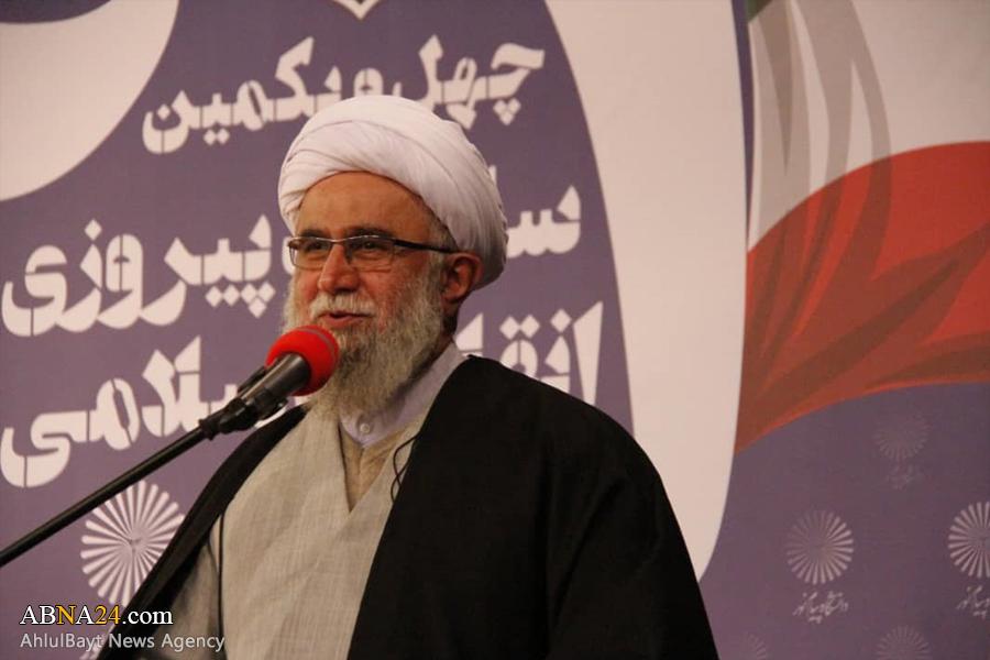 Photos Ayatollah Ramazani attends at ceremony on Iran's Revolution Anniversary in Qom