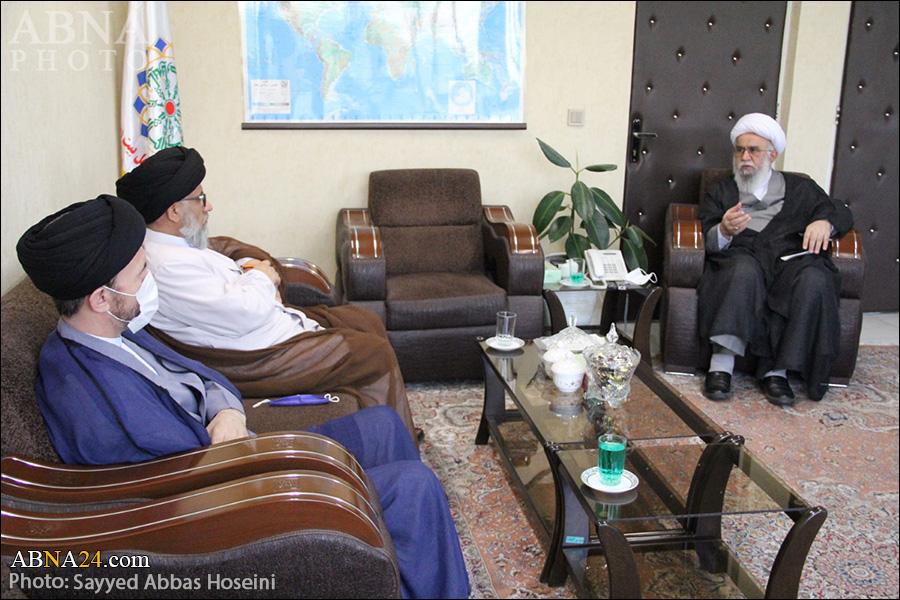 Photos: Hojat al-Islam Hosseini Mazari met Secretary-General of AhlulBayt (a.s.) World Assembly