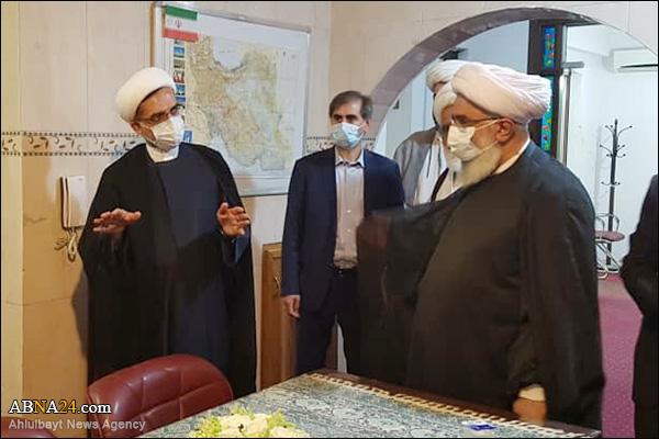 عکس خبری/ بازدید دبیرکل مجمع جهانی اهلبیت(ع) از خانه فرهنگ ایران در عراق