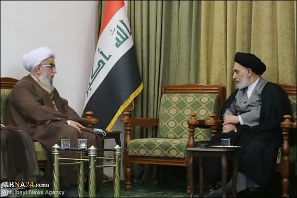 Photos: Secretary-General of ABWA met Friday Prayer Leader of Najaf