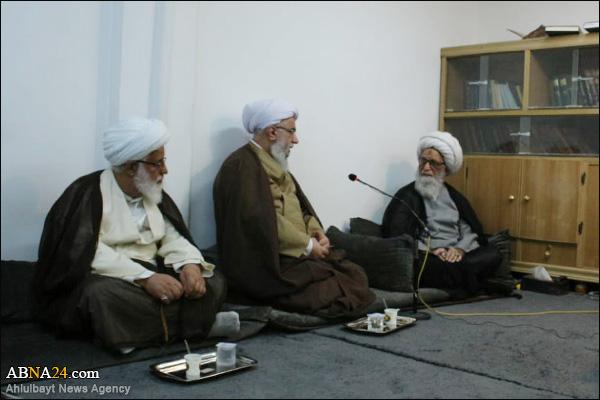 آیت اللہ بشیر نجفی: اسلامی جمہوریہ ایران پر فخر محسوس کرتے ہیں، ایران دلوں کے سکون کا سبب ہے، اہل بیت(ع) عالمی اسمبلی جہاد کی حالت میں ہے