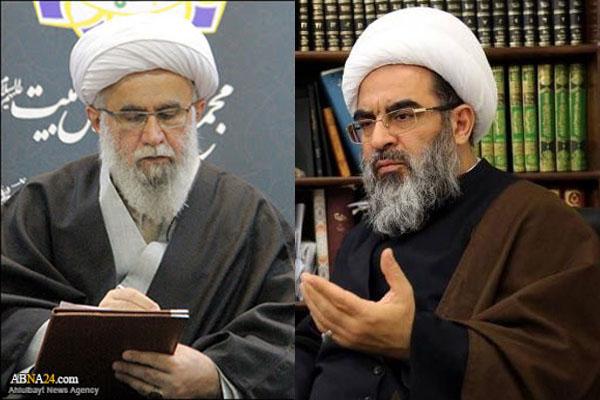 Ayatollah Ramazani expressed his condolences to head of the A'eme At'har Jurisprudence Center