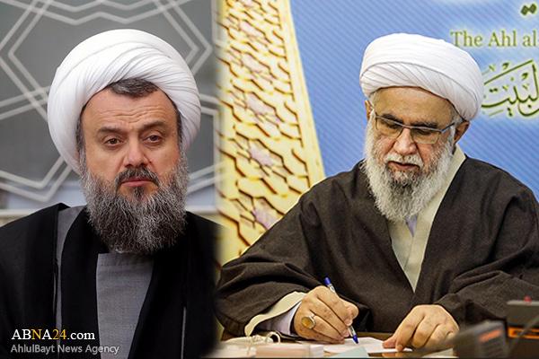 Ayatollah Ramazani expressed his condolences to Ayatollah Hadavi on demise of his father