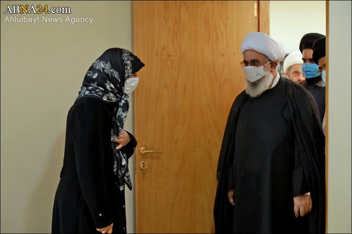 Фоторепортаж / Аятолла Рамезани встретился с главой «Института имама Садра»