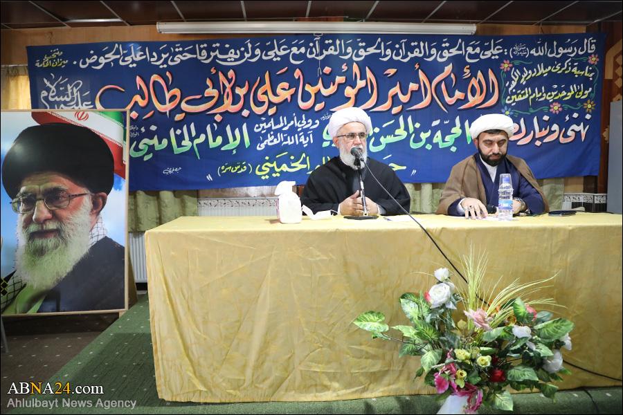 Photos: Ayatollah Ramazani met students and professors of Al-Mustafa University in Syria