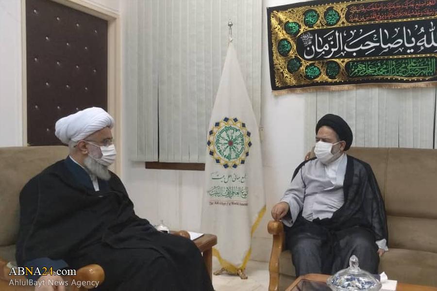 Representative of Supreme Leader in Hajj, Pilgrimage Affairs met Ayatollah Ramazani