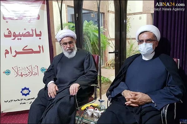 تقرير مصور / أمين عام المجمع العالمي لأهل البيت (ع) يتفقد البيت الثقافي الايراني في العراق